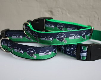 Seahawks Dog Collar