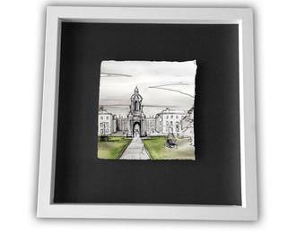 TRINITY COLLEGE, The Quad - Dublin University Ireland