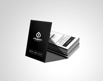 Business Cards (CONTAGIOUS ENTHUSIASM Template)