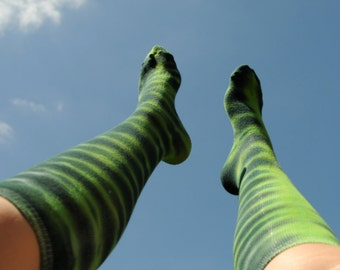 Knee High Tie Dye Socks - Team Socks - 5k- Softball - Volleyball - Basketball - Kickball - Soccer