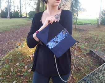 ABYSS pouch with shoulder strap
