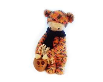 Orange Lalylala BINA bear
