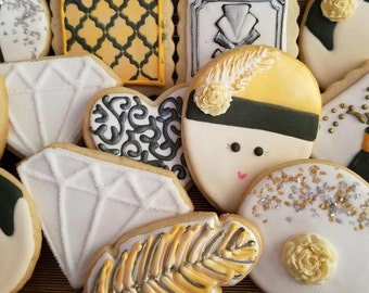 Great Gatsby Sugar Cookies