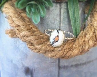 Crazy Horse Twisted Ring