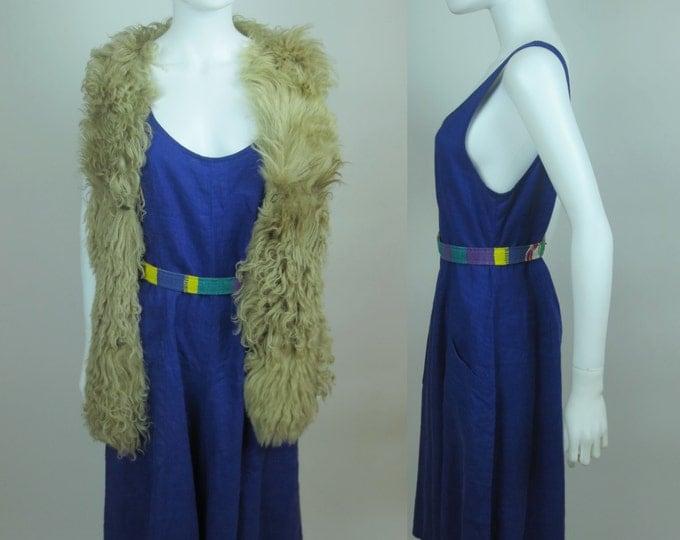 80s minimalist royal orchard purple avant garde wide leg overalls jumpsuit