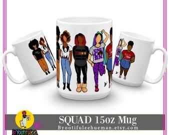 Squad 15oz Mug