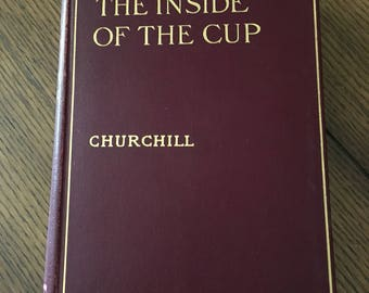 1913 The Inside If The Cup by Winston Churchill