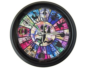 Persona - Arcana - Wall Clock - Gamer Decor -  Video Game Art - Video Game Decor - Video Game Wall Clock - Gamer Gift - College Dorm Decor