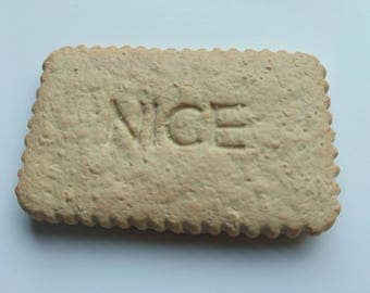 Nice (reproduction) Polymer Clay Fridge Magnet