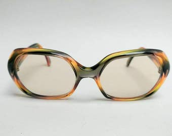 Vintage Nigura multicolor frame glasses