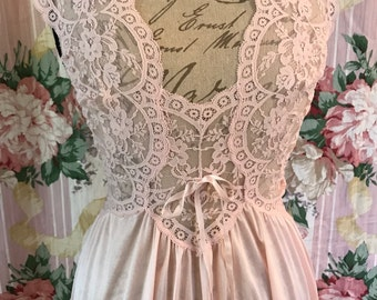 New Rare Blush Pink Olga Nightgown