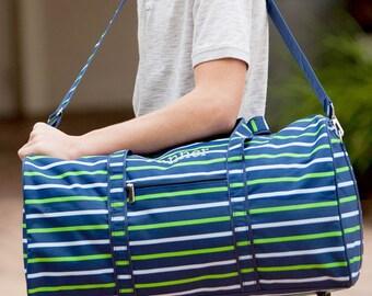 Boys Duffel Bag, Monogrammed Duffel Bag, Duffel Bag, Boys Travel Bag, , Boys Travel Luggage, Boys Tote, Camp Bag