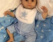 Reduced For A Limited Time  Reborn doll boy 18 Jasper tiny newborn size baby mottled 34 limbs heat paints realistic my fake baby uk