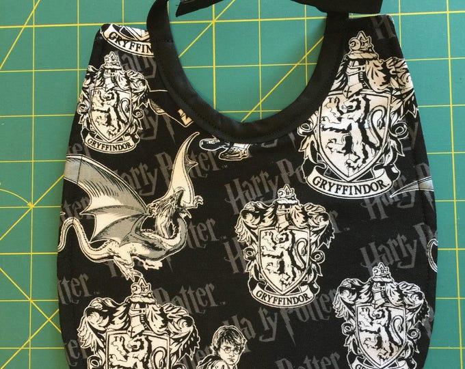 Baby Bib Harry Potter Gryffindor Print Design