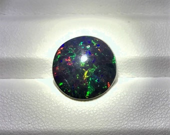 Natural Kalimaya Black Opal With Amazing Play-of-Color