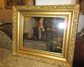 ANTIQUE GOLD MIRROR Wall Hanging