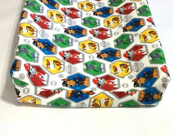 Paw Patrol Changing Pad Cover  / Baby Nursery
