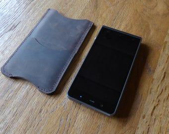 KODAK Ektra leather case sleeve with card holder, leather  KODAK Ektra  sleeve, leather