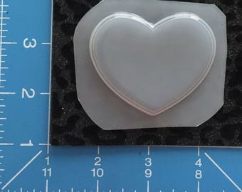 "3"" heart mold"
