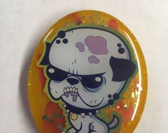 Zombie Dog Magnet