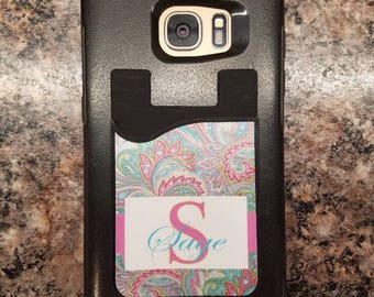 Card Caddy/ Cell phone pocket/ Debit card- Student ID storage