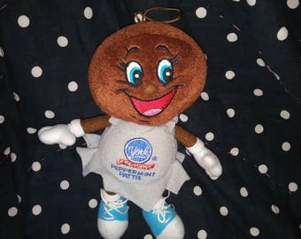 York Peppermint Patty 7 inch tall  plush