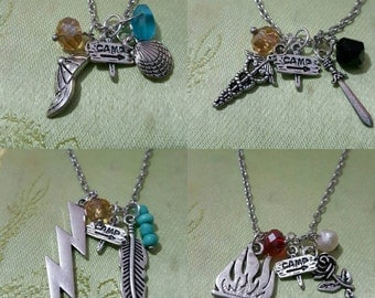 Demigod ship character necklaces (options)