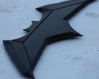 Justice League Batarang   3D Printing   Digital Download   DIY