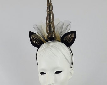 Unicorn / Alicorn Horn, Ears , Cosplay, Pony, Dress up Headband,perfect for teenages and adults