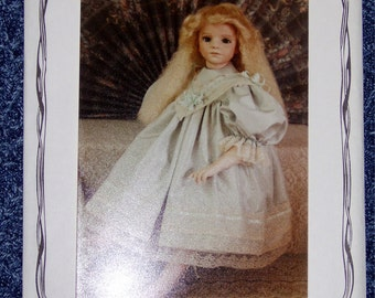 Yesterday's Children Doll Dress Pattern BS-228 Fits 27-28 inch doll