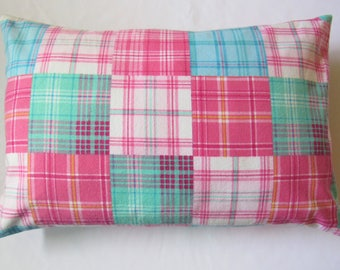 "Envelope Pillowcase Travel Toddler Camping Fits 14 X 20"" Pillow Soft Flannel"