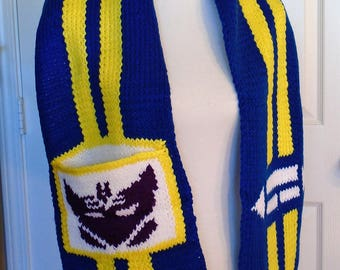 Transformers Soundwave Inspired Scarf