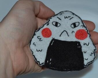 Angry Onigiri- Large