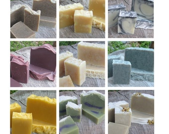 4 bars of handmade soap, you pick!