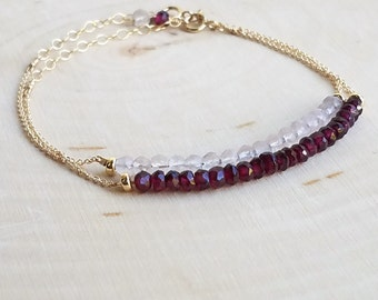 Crystal Flex Bar Bracelet