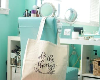 """Canvas Tote Bag/Market Bag, heavy duty 100% cotton 
