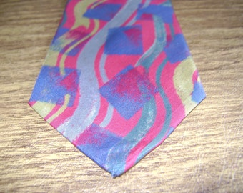 designer silk ties zx0g  Enrico Guccini silk tie, Guccini tie made in Italy, Designer silk tie  Italy, Italian silk tie, Vintage Designer tie