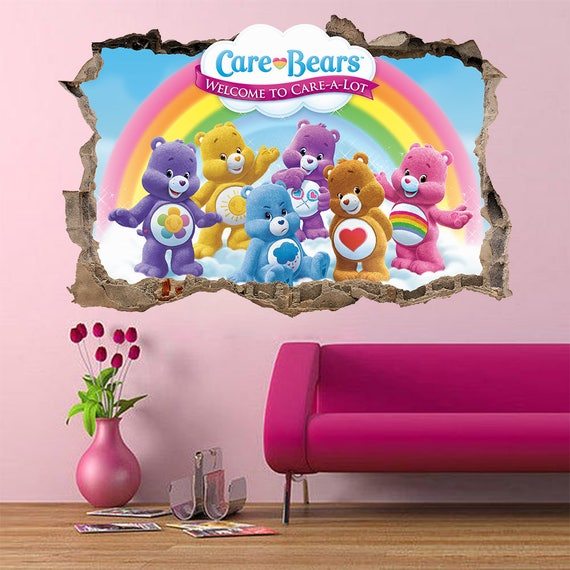 Free online etsy catalog builder for Care bears wall mural
