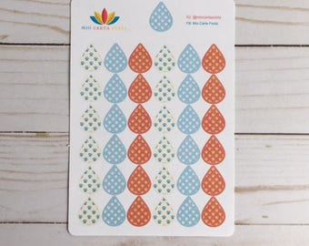 S098 - 37 Paw Drop Planner Stickers