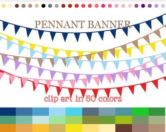 pennant banner clip art