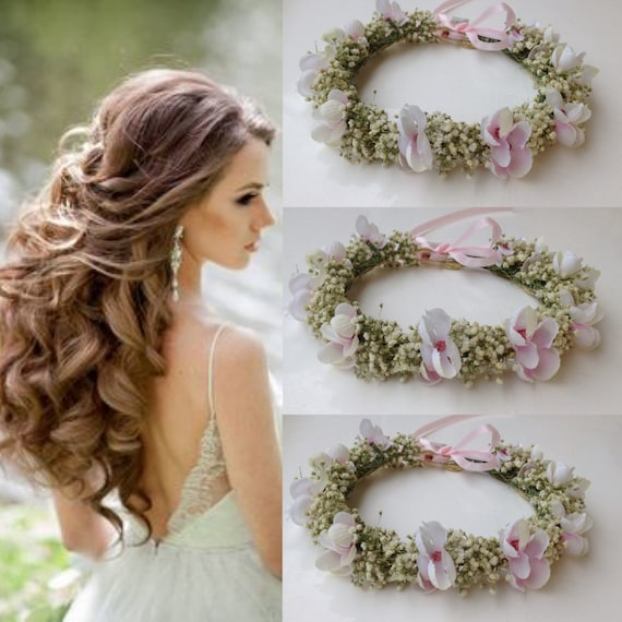 Baby Breath Hair Piece Dried Baby S Breath By