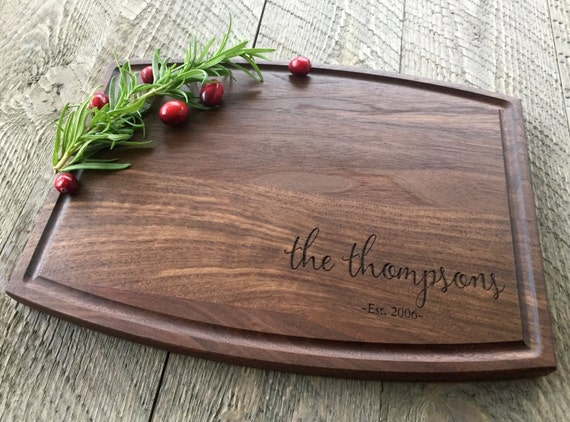Custom Cutting Board Personalized Cutting Board Engraved