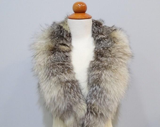 Real Fox Fur Collar F463