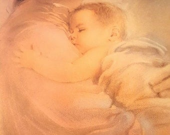 Madonna picture...Mother and child....Mary and infant Jesus