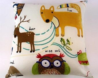 Prestigious Textiles Nature Trail Paintbox 100% cotton cushin covers