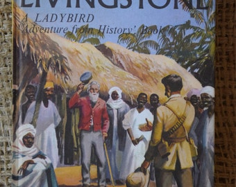 David Livingstone. A Vintage Ladybird Book. Series 561. 1969