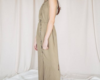MAGNOLIA OLIVE DRESS