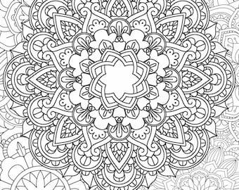 Mandala Coloring Page - Printable Coloring Pages - 05