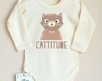 Cat Baby Clothes Cat Shirt I Just Can t Even Right Meow