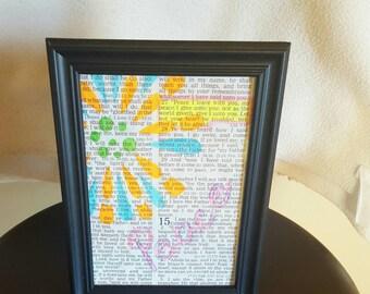 Scripture Frame